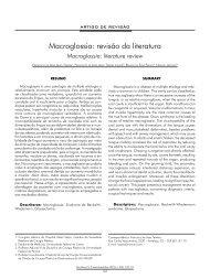 Macroglossia: revisão da literatura - ABCCMF