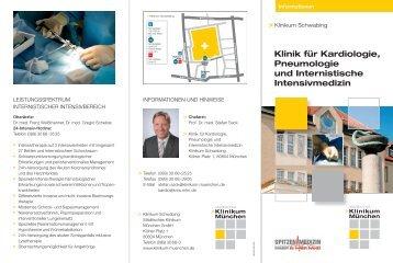 Klinik für Kardiologie, Pneumologie und Internistische Intensivmedizin