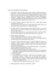 upis u prvi razred osnovne Å¡kole - Trogir