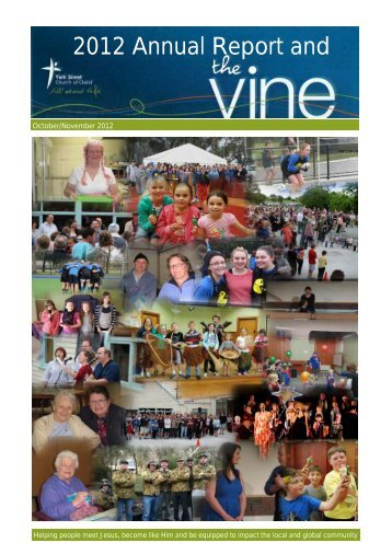 Annual Report 2012 – compressed - York St Church of Christ