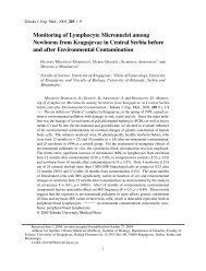 Monitoring of Lymphocyte Micronuclei among Newborns from ...
