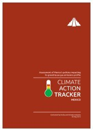 Full report - Mexico - English - Climate Action Tracker