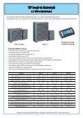 Standard levegő-víz hőszivattyúk - PF. Trading Kft. - Page 2