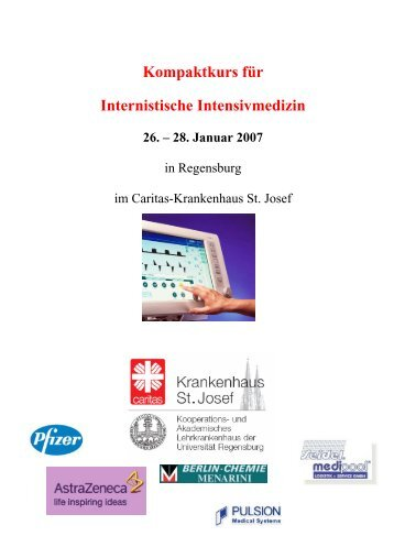 Kompaktkurs für Internistische Intensivmedizin - PULSION Medical ...