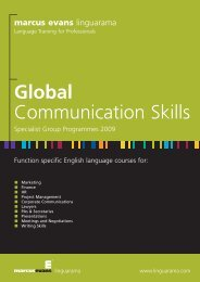 Global Communication Skills - Linguarama