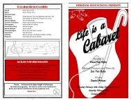 Cabaret - Herndon High School Choir, Herndon VA