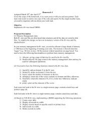 Homework 4 Assigned March 30 , due April 13 Given the scope of ...