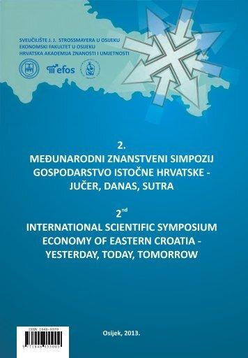 2. međunarodni znanstveni simpozij gospodarstvo istočne hrvatske