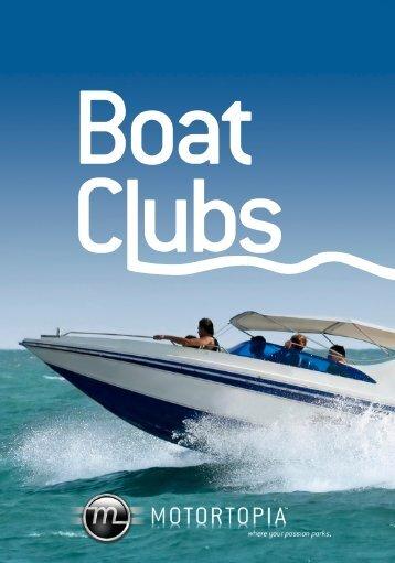Boat Club Spec Sheet - Motortopia