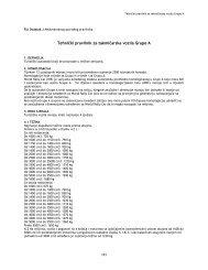 Tehnicki pravilnik za takmicarska vozila grupe A - bihamk