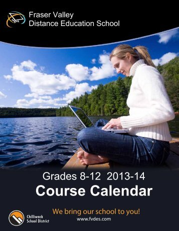 Course Calendar - Fraser Valley Distance Education School