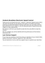 Xcelorin Brushless Electronic Speed Control - Losi