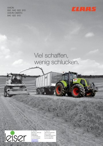 axion 800 - CLAAS