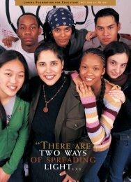 2002 Annual Report PDF - Lumina Foundation