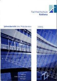 anhang - Fachhochschule Koblenz