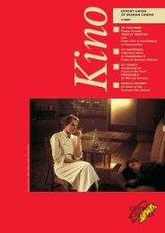 Titel Kino 3/2001(2 Alternativ) - German Films