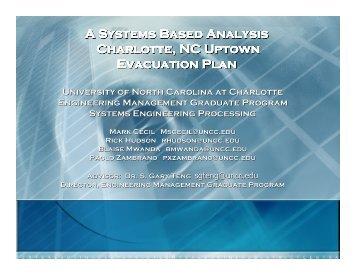Presentation - Contingency Planning Association of the Carolinas ...
