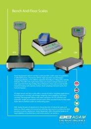 Bench And Floor Scales - Adam Equipment