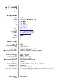 Curriculum Vitae 20111231 - Mario Rotta