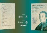Programa de la Feria del Libro SC Tfe 2013 - Gobierno de Canarias