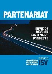 ENVIE DE DEVENIR PARTENAIRE D'INGRES ? - Actian