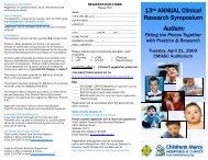 Brochure - Children's Mercy Hospitals and Clinics