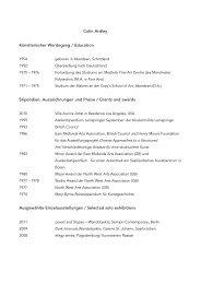 biographie - Semjon Contemporary