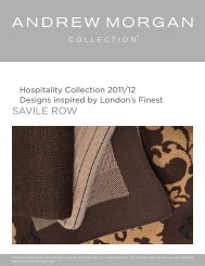 Savile Row - Andrew Morgan Collection