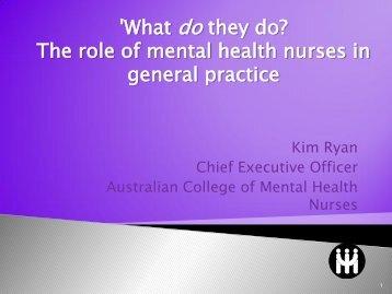 Australian Governments - New Funding for Mental Health ... - APNA