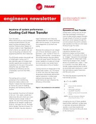 Trane Engineers Newsletter, vol 31-1