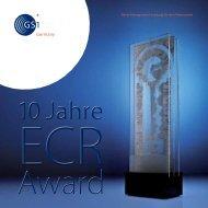 Beste Management-Leistung für den Verbraucher - ECR Award ...