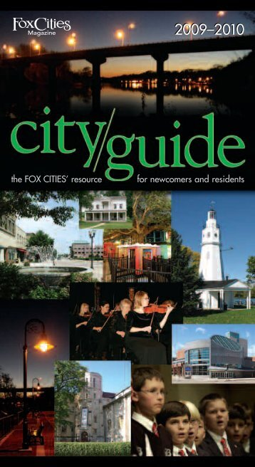 09 FCM City Guide COVER - Fox Cities Magazine