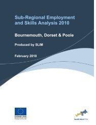 Bournemouth, Dorset & Poole - The Skills & Learning Intelligence ...