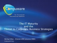 The IT Maturity and the Threat to Corporate Business Strategies - IDG
