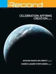 celebration affirms creationpage 9 - RECORD.net.au