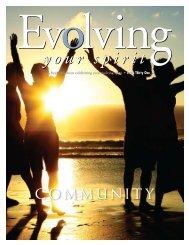 COMMUNITY - Evolving Your Spirit