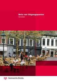 Nota van Uitgangspunten Ginneken - Gemeente Breda
