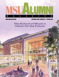 MSU Alumni Magazine, Spring 2004, MSU Alumni Association