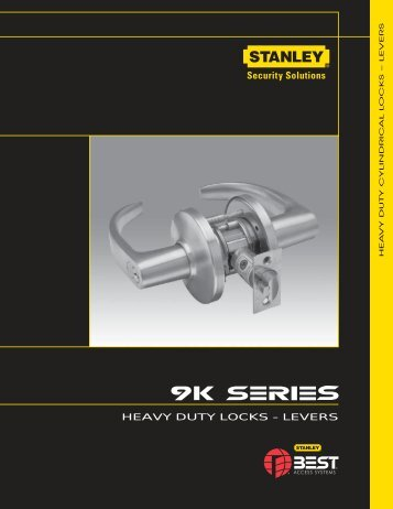 HEAVY DUTY LOCKS - LEVERS - Best Access Systems