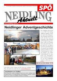 Neidlinger Adventgeschichte - SPÖ Neidling