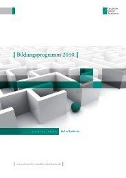 + PLUS + - Deutsche Makler Akademie