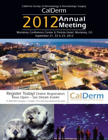 2012 Official Registration Brochure - Calderm