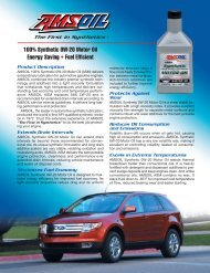 100% Synthetic 0W-20 Motor Oil Energy Saving • Fuel ... - Synpsg