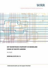 Het biometrisch paspoort in Nederland - Oapen