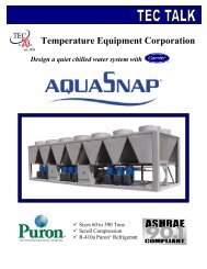 System Part Load Value: A Case for Chiller System     - Carrier