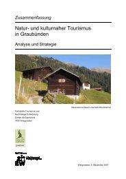 Natur- und kulturnaher Tourismus in Graubünden - Berggebiete.ch
