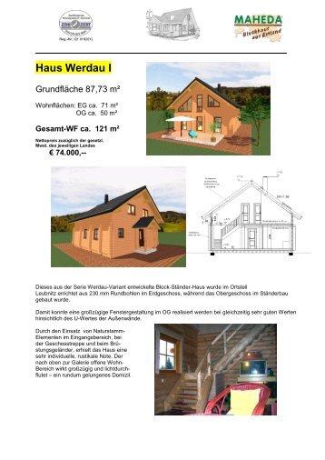 Haus Werdau I