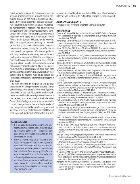 contemporary neurological dilemmas - Practical Neurology