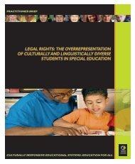 LEGAL RIGHTS: THE OVERREPRESENTATION OF ... - NCCRESt