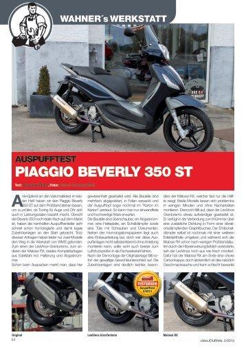 PIAGGIO BEVERLY 350 ST - Wahner's Motoshop